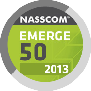 NASSCOM EMERGE 50 (GROWTH CATEGORY) IN YEAR 2013