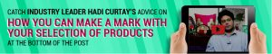 Hadi Curtay on How to choose products to sell online