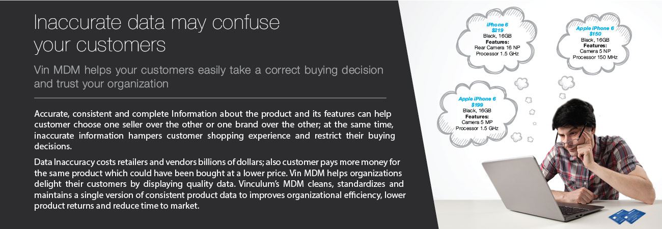 Inaccurate data may confuse Marketplace