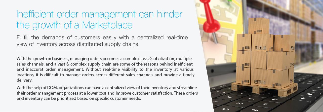 Inefficient Order Management Marketplace