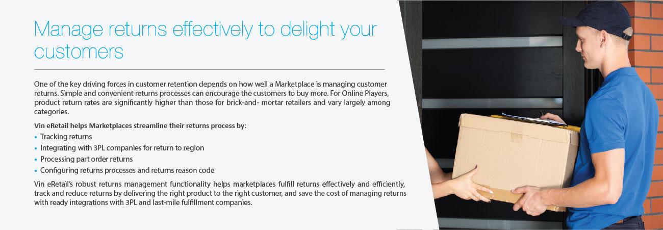 Manage Returns Marketplace